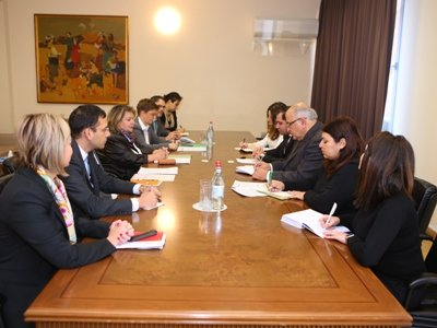 Սուրեն Պապիկյանը կարևորել է ՀՀ-ի և Գերմանիայի Դաշնության քաղաքական հարաբերությունների բարձր մակարդակը