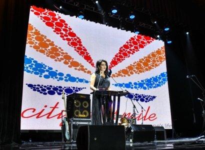 Աննա Հակոբյանը նոյեմբերի 8-ին ներկա է գտնվել ‹‹Ժպիտների քաղաք›› հիմնադրամի ամենամյա բարեգործական ընթրիքին