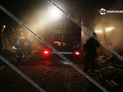 Խոշոր հրդեհ  Սեմյոնովկա գյուղում, սատկել են մեծ թվով խոշոր եղջերավոր անասուններ