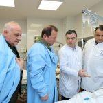 Դավիթ Տոնոյանն այցելել է ՊՆ կենտրոնական կլինիկական զինվորական հոսպիտալ