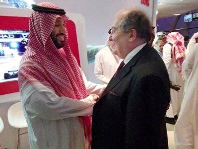Արմեն Սարգսյանը լուսանկար է հրապարակել Նորին արքայական մեծություն շեյխ Մուհամմադ բին Սալման Ալ Սաուդի հետ