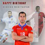 Հենրիխ Մխիթարյանը 31 տարեկան է, ՀՖՖ-ն շնորհավորել է