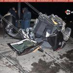 Ողբերգական վթար Արարատում.ավտոմեքենան մեջտեղից կիսվել է.կան զոհեր