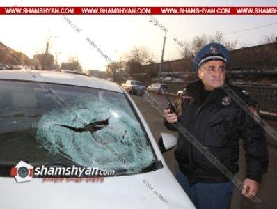Մահվան ելքով վթար՝ Երեւանում. Nissan-ը վրաերթի է ենթարկել փողոցը չթույլատրելի հատվածով անցնող հետիոտնին