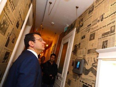 Ստամբուլի քաղաքապետն այցելել է «Հրանտ Դինքի հիշողության» թանգարան