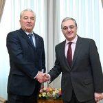 Զոհրաբ Մնացականյանն ընդունել է Ուկրաինայի նորանշանակ դեսպան Իվան Կուլեբային