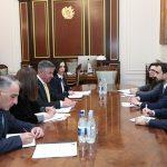 Տիգրան Ավինյանն ընդունել է Ասիական զարգացման բանկի Հայաստանի գրասենյակի նորանշանակ տնօրենին