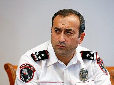 Արման Սարգսյանը Ոստիկանության Երեւան քաղաքի վարչության պետ է նշանակել