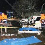Ողբերգական ավտովթար Երևանում.կա զոհ