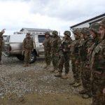 Գեներալ Միշոն բարձր է գնահատել ստուգումների արդյունքները և շնորհակալություն հայտնել հայ խաղաղապահներին