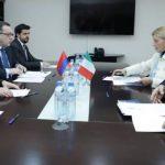 Հայաստանի եւ Իտալիայի ԱԳ նախարարությունների միջեւ տեղի է ունեցել քաղաքական խորհրդակցություններ