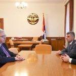 Բակո Սահակյանը ընդունել է ՀՅԴ բյուրոյի ներկայացուցիչ Հակոբ Տեր-Խաչատրյանին