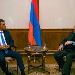 Արմեն Սարգսյանն այսօր ընդունել է Հայաստանի մարդու իրավունքների պաշտպան Արման Թաթոյանին