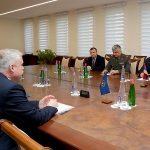 ՀՀ պաշտպանության նախարարը հանդիպել է ՀԱՊԿ գլխավոր քարտուղարին