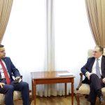 ՀՀ ԱԳ նախարարն ընդունել է ՀՀ-ում Սիրիայի դեսպանին եւ շնորհակալություն հայտնել նրան