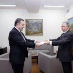 Կիպրոսի նորանշանակ դեսպանն իր հավատարմագրերի պատճենն է հանձնել Հայաստանի ԱԳ փոխնախարարին