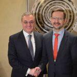 ԱԳ նախարար Զոհրաբ Մնացականյանը հանդիպել է ԵԱՀԿ գլխավոր քարտուղար Թոմաս Գրեմինգերի հետ