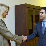 Բադասյանն ու Դեբորա Գրիզերը քննարկել են հակակոռուպցիոն պայքարում համագործակցության ուղղությունները