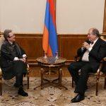 Արմեն Սարգսյանն այսօր հանդիպել է Հայաստանում Եվրամիության պատվիրակության ղեկավարի հետ