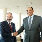 Նիկոլ Փաշինյանը Մյունխենում հանդիպում է ունեցել Քուվեյթի վարչապետ Շեյխ Սաբահ Խալեդ Ալ-Համադ Ալ-Սանահի հետ