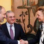 Նիկոլ Փաշինյանը հանդիպում է ունեցել ԵԽ գլխավոր քարտուղար Մարիա Պեյչինովիչ Բուրիչի հետ