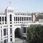 ՀՀ ԱԳՆ-ն բարձր է գնահատել Հայոց ցեղասպանությունը ճանաչելու մասին Սիրիայի խորհրդարանի բանաձեւը